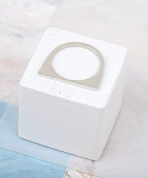 Tiny Geometric Stacking Ring