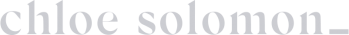 chloe solomon logo