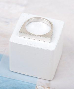 Medium Geometric Stacking Ring