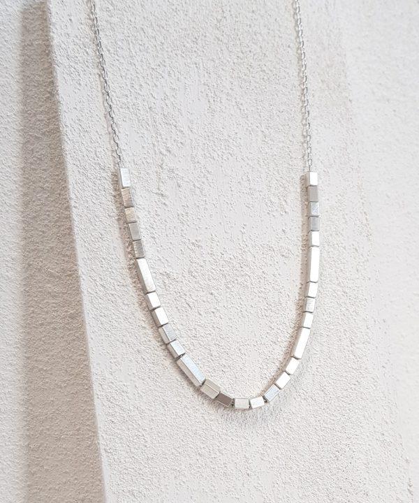 Geometric Rhythm Necklace